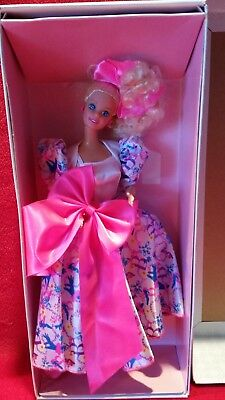 barbie doll STYLE COLLECTOR SPECIAL LIMITED EDITION stand box NRFB 1990