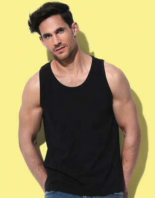 Stedman: Herren Classic Tank Top Baumwolle Single Jersey Casual Fit ST2800 NEU