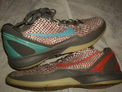 d9cdaf2811c1 NIKE Zoom Kobe 6 VI All Star 3D Hollywood Sneakers Basketball Shoes US Size  11