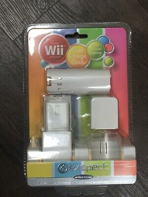 Exspect Wii Twin Charge Dock - Rechargeable Batteries