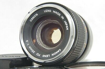 Canon FD 35mm F/2 MF Wide Angle Prime Lens SN27401 from Japan