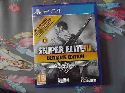 jeu ps4 sniper elite III , ultimate édition