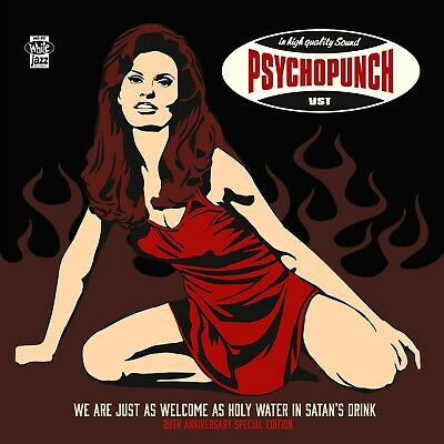 PSYCHOPUNCH - We Are Just As Welcome As Holy Water... - Vinyl-LP - 4028466920638
