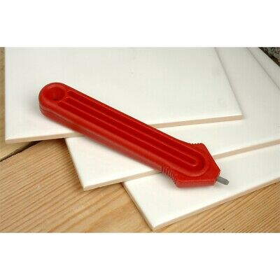 Tile Cutter With Edged Tungsten Carbide Tip - Linic Red