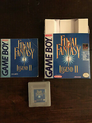 Final Fantasy Legend II Game Boy avec notice d'origine et boite