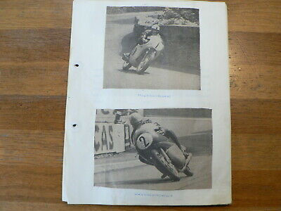 Moto Gp  Suisse Japan Nippon Scrapbook & Pictures & Results 1950-67 Redman Taver