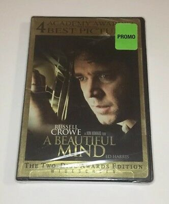A Beautiful Mind (DVD, 2002, Two-Disc Set, Limited Edition Packaging Widescreen