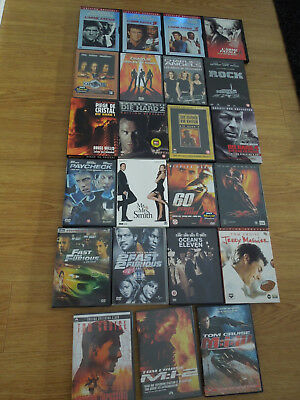 Lot dvd films action