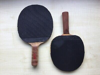 Two Old Table Tennis Bats