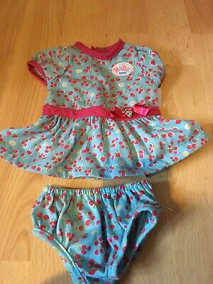 Baby Born Bundle Of Girl Doll Clothes