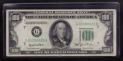 1950 Chicago (G) FRN One Hundred Dollars $100 VF+