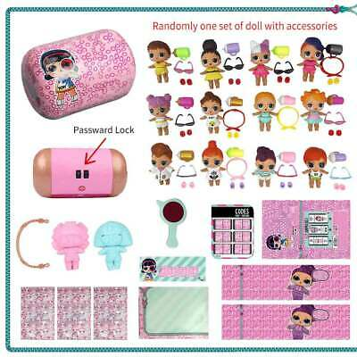 LOL Surprise Doll Under Wraps Series Eye Surprises and Password Lock Best Gifts