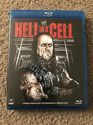 WWE: Hell in a Cell 2010 (Blu-ray Disc, 2011) WWF DVD BLU-RAY