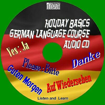 Holiday German Language Course Listen & Learn Essential Words & Phrases Audio Cd