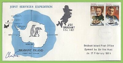??British Antarctic Territory 1985 Joint Services, signed Chris Furse, Opening d