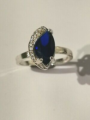 Gorgeous Blue Stone Ring - Metal Detecting Find