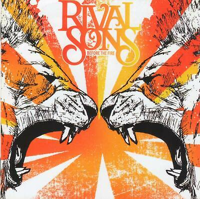 RIVAL SONS - BEFORE THE FIRE (2009) American Blues Rock CD+FREE GIFT
