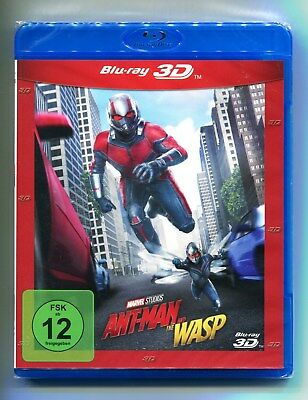 Ant-Man and the Wasp 3D - Marvel, 3D Blu-ray