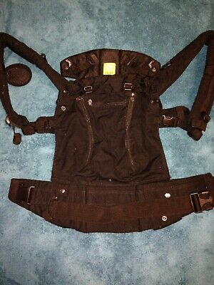 Lille baby Complete All Seasons 6-in-1 Baby Carrier (Black) Never Used