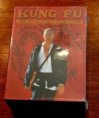 KUNG FU TV Series Complete Collection DVD's Factory Sealed 62 episodes + Pilot