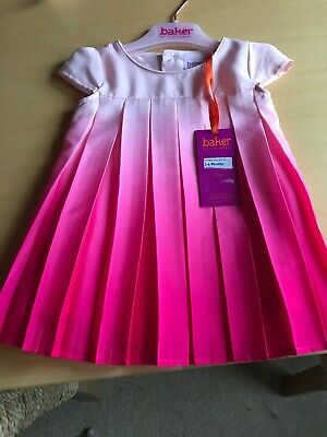 Ted Baker Baby Girl Dress 3-6 Months  Brand New