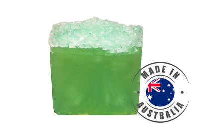 Crushed Lime & Sea Salt - Glycerin handmade soap