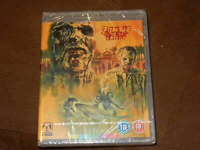 "Brand New & Sealed ""zombie Flesh Eaters"" Arrow Blu-Ray Rare Oop Region B Uk"
