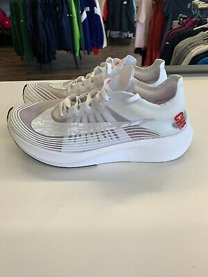 918b7848fd315 Nike Zoom Fly SP Chicago Marathon Shoes REFLECTIVE SZ 10 Summit White BV1183 -100