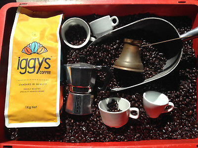 Iggys Coffee 2Kg 8Amexpress 100% Premium Coffee Beans Dark Roasted Express