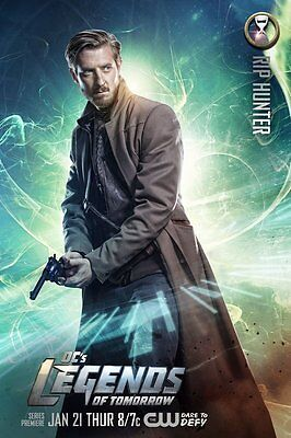 Affiches Legends Of Demain Arrow The Flash Arthur Darvill Rip Hunter Série Tv #5