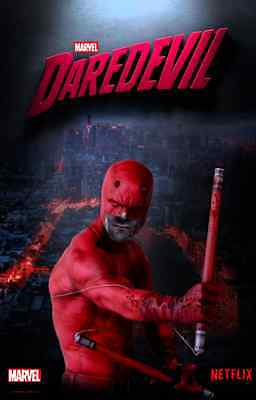 Affiches Daredevil Dare Devil Matt Murdock Comics Série Series Tv Charlie Cox #9