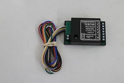 NEW TOWING ELECTRICS TEB7AS 12V DC 7 Way Smart Universal Bypass Relay for Towing