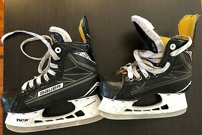 Boys Ice Hockey Skates | Bauer Supreme s150  size EUR 34 UK 2 US 2.5