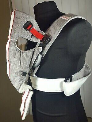 3c2835fe516 Baby Bjorn Baby Carrier Mesh One Air White Gray (BabyBjorn) 8-25 Lbs