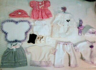 Bnip American Girl Bitty Baby Doll Clothing And Accessories Lot! Must See!