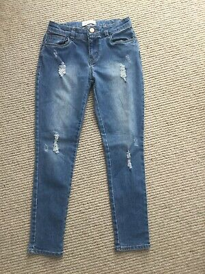Girls Country Road Soft Stretch Jeans Denim Size 8 As New