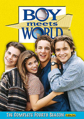 Boy Meets World Season 4 (DVD, 2010, 3-Disc Set)