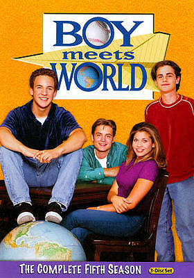Boy Meets World: The Complete Fifth Season (DVD, 2011, 3-Disc Set)
