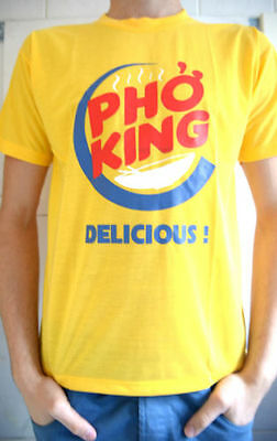 NEW T-Shirt Men Women UNISEX Top Pho King Vietnamese Beef Noodle Soup Gift Free