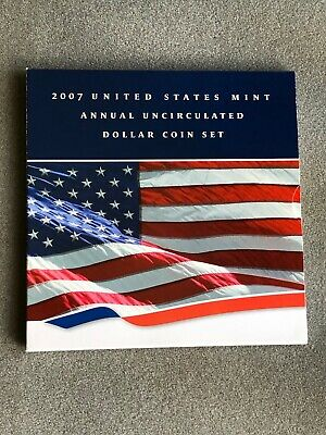 2007 United States Mint Annual Uncirculated Dollar Coin Set