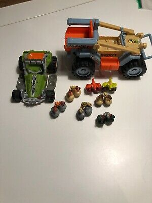 Launch Into Action Motorized Motorcycle Matchbox Big Boots-ARCTIC BIKE PACK