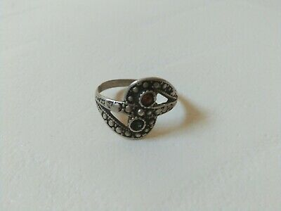 extremely ancient old ring silver legionary roman ring bronze rare type