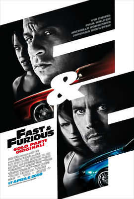 Affiches Fast And Furious 2 3 4 Vin Diesel Paul Walker #2
