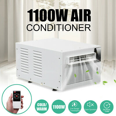1100W Refrigerated Cooler Window Air Conditioner Cooling Timing Summer Lighting
