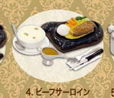 MIMO Miniatures Hong Kong Mimo Steak House Restaurant RARE rement size No.4