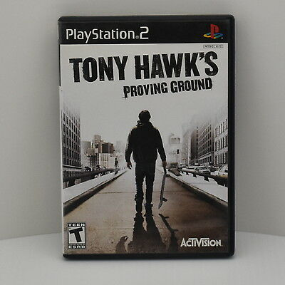 Tony Hawk's Proving Ground Playstation 2 PS2 Game Complete