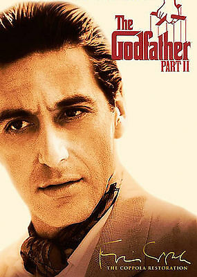 The Godfather Part II - The Coppola Restoration - NEW DVD