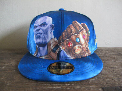 MARVEL x NEW ERA Avengers Infinity War Thanos 59FIFTY Fitted Cap 7 1/2 end game