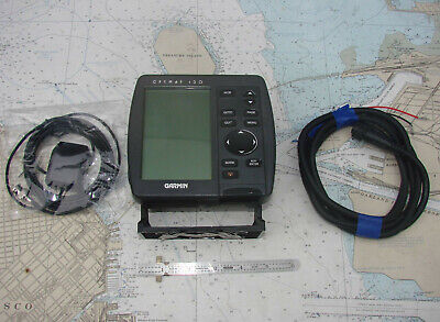 Garmin GPSMAP 130 CHARTPLOTTER-NMEA Output-MANY PHOTOS-SOPHISTCATED-L@@K