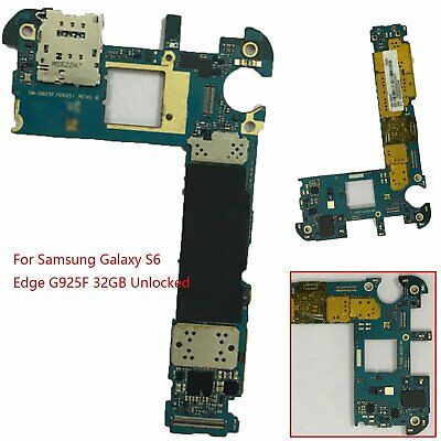 Replacement For Samsung Galaxy S6 Edge G925F 32GB Main Board Motherboard Unlock